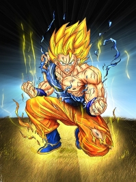 Blond Goku