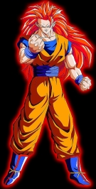Red-headed Goku