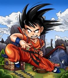 Adolescent Goku