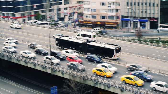 cars and buses